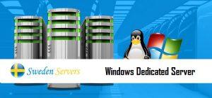 Sweden Windows Dedicated Server