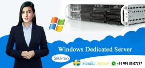 Sweden Windows Dedicated Server Hosting